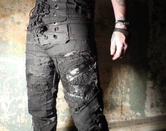 Reanimated SceneSick Post Apocalyptic Horror Stagewear Pants