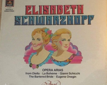 Elisabeth Schwarzkopf Opera Arias Sealed Vinyl Classical Record Album