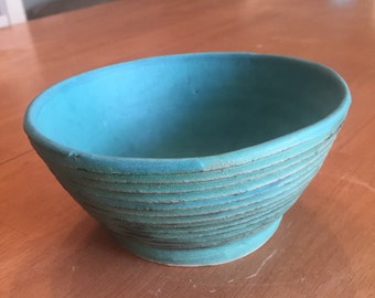 Blue Ringed Bowl