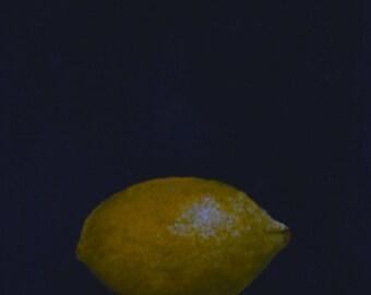 Lemon paintings  kitchen art paintings of fruit  still life paintings  paintings of lemons