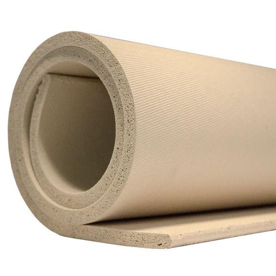 Quot r sponge rubber sheet tan color to