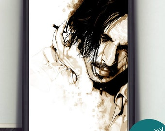 Johnny Depp Art Print - Limited - Signed By Artist