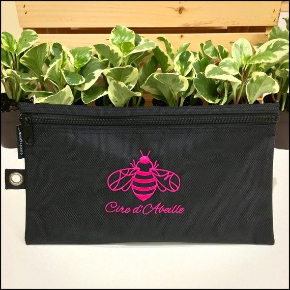 Cire d'Abeille™ All Purpose Zipper Bag with Logo