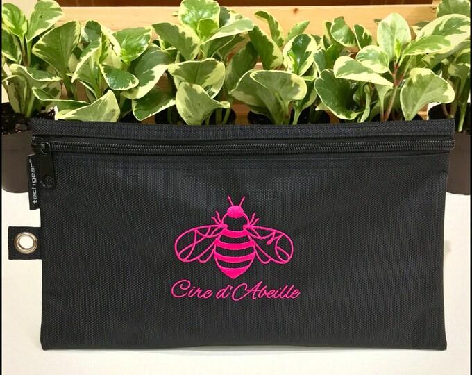 Cire d'Abeille™ All Purpose Zipper Bag with Logo