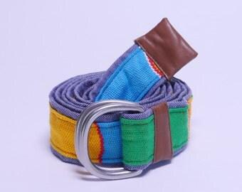 D-Ring Ghanaian Kente Belt (ACC102)