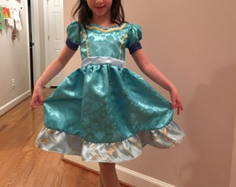 Princess Isabel of Avalor Halloween Costume or Birthday Party Dress