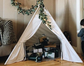 Kids Clear White Tepee