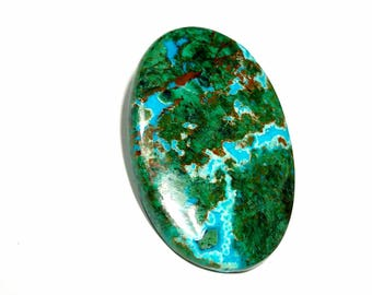 Chrysocolla with Azurite cabochon best quality 8.08gm GM 338