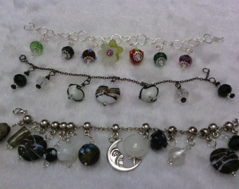 Clearance lot Going out of business Sale Charm bracelets