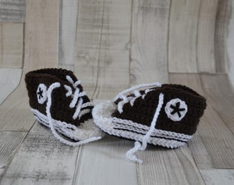 Baby Shoes Sneakers - Brown