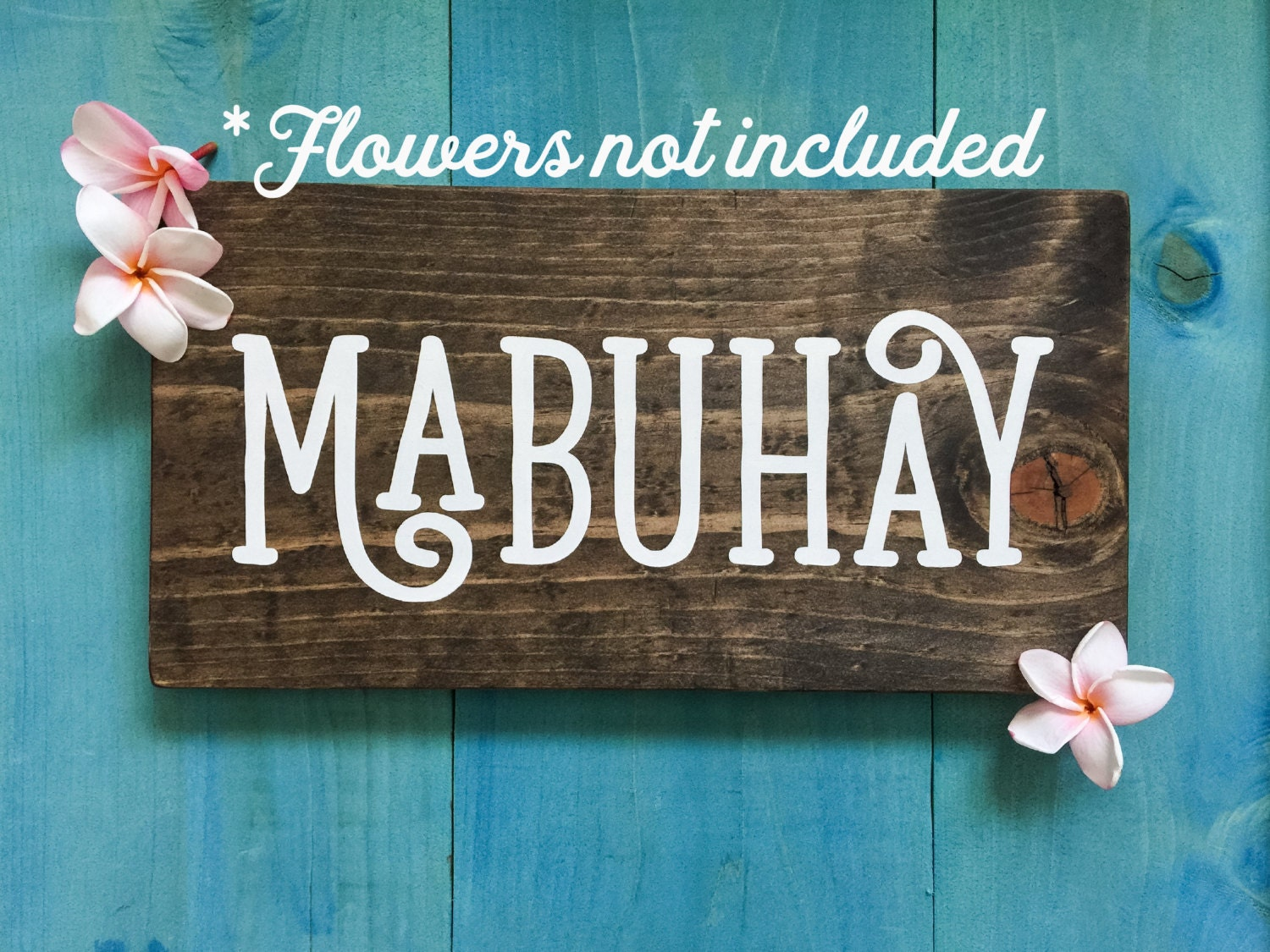Dog crib for sale philippines - Mabuhay Wood Sign With No Flowers Wooden Sign Sign Of Hospitality Filipino Decor Wall Decor Philippines Hello Tagalog