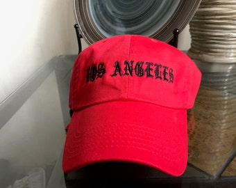LOS ANGELES (Old English) Cap