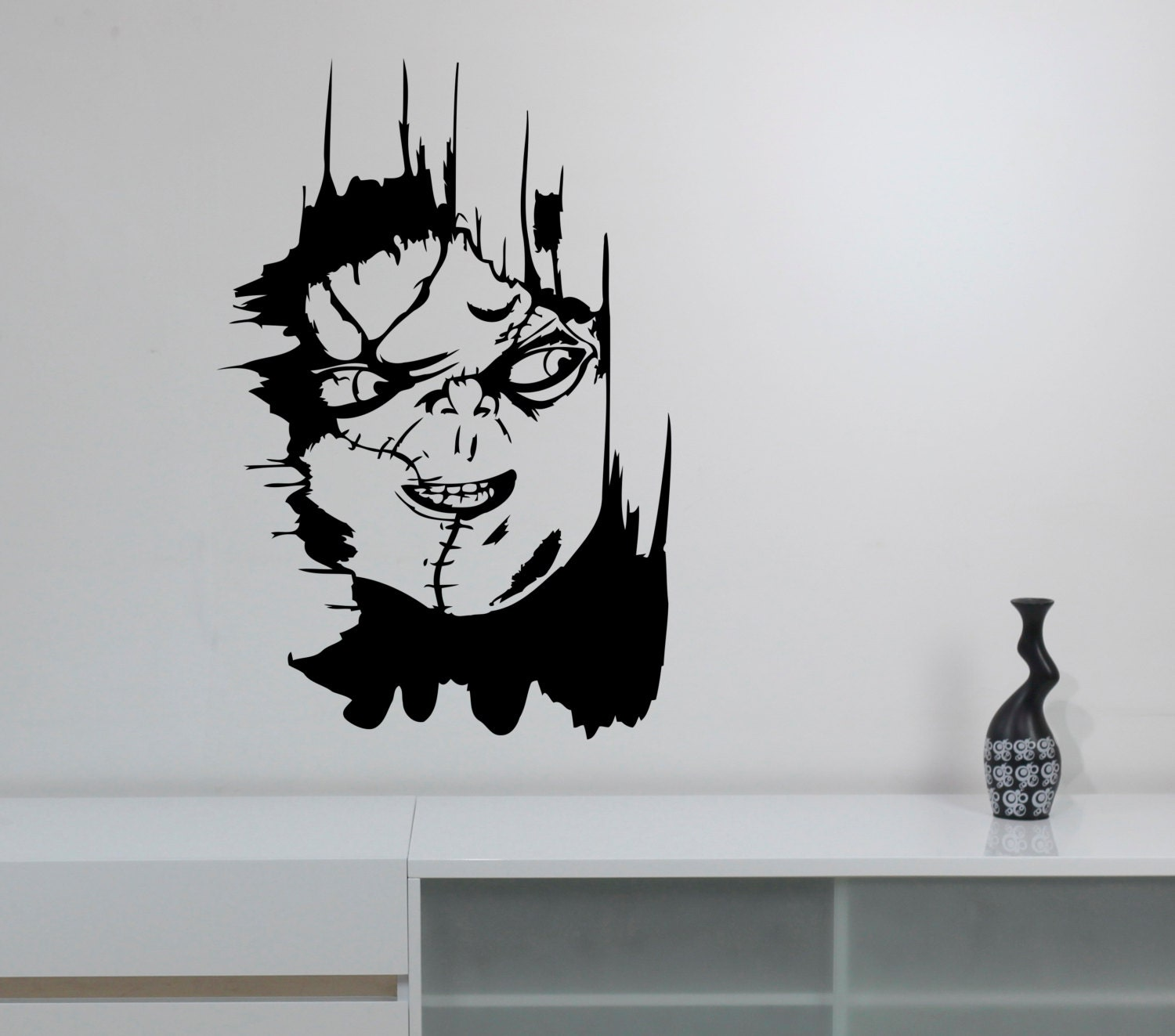 Chucky Play Wall Sticker Removable Vinyl Decal