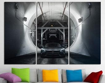 Mercedes-Benz AMG GT Mercedes Benz AMG Mercedes Benz Print Mercedes Benz Canvas Mercedes Wall Art Mercedes Benz Art Mercedes Benz Poster