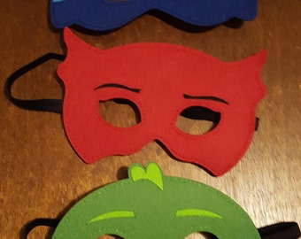 Pj mask party mask