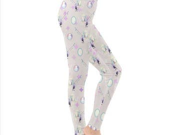 Opal Leggings - Steven Universe Leggings Cosplay Leggings Pastel Leggings Oddity Apparel Leggings Pearl Leggings Amethyst Leggings Gems
