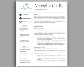 nurse resume professional resume template 1234 page resume