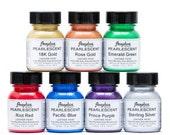 Angelus Pearlescent Paint Set