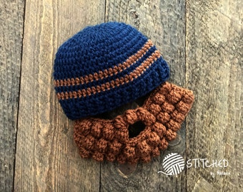 Bearded Beanie Hat