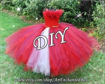 DIY ELENA of AVALOR Inspired Princess Dress Kit for Girls, Dressup Gown, Flower Girl for Disney Theme Wedding, Tutu Costume, Full Skirt