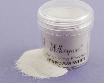 Whispers Seafoam White Embossing Powder, 1 Ounce