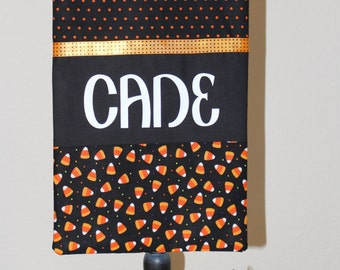Candy Corn Trick or Treat Bag #2 (Personalized)
