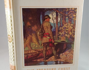 My Book House book 9, The Treasure Chest,1971; hardcover vintage book; vintage children's book; vintage book collectible