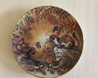 Decorative Wall Plate, Porcelain Wall Plate