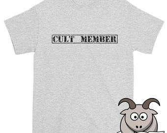 Cult Member Shirt, Atheist Shirt, Heretic Shirt, Free Thinker Shirt, Skeptic Shirt, Reason Shirt, Anti-Religion Shirt, Atheism Shirt