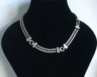 Anne Klein Vintage 1980s Necklace and Earrings set