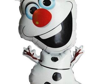"28"" Olaf Frozen Snowman Foil Balloon"