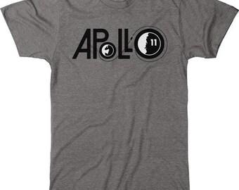 NASA Apollo 11 Men's Tri-blend T-Shirt