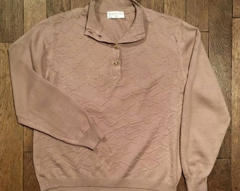 Vintage beige sweater
