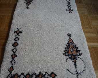 Berber Morocco Atlas - Super offer 30% OFF hand made natural dyed wool rug
