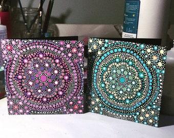 Small Mandala Greetings Cards