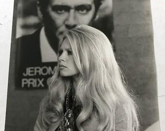 Original photo: Raoul Foulon - Brigitte Bardot - 1969