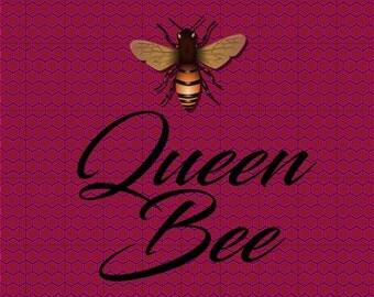 Queen Bee Honeycomb