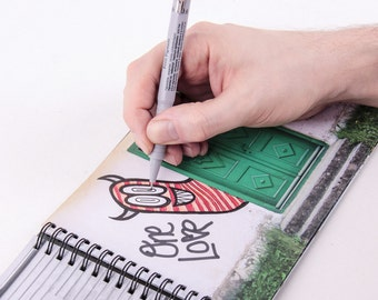 Wall Sketch Book - sketchbook for graffiti and street artists.
