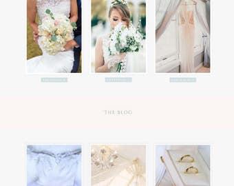 Custom WordPress Theme  // Feminine website theme template  // Divi Custom web design services   // Ecommerce Website // Blogging website