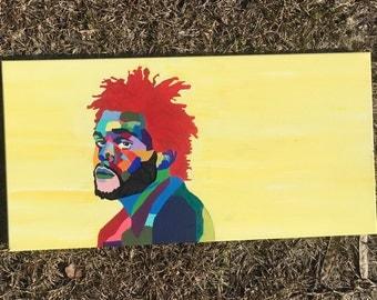 The Weeknd- Original Screen Print