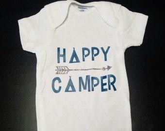 Happy Camper Baby Onesie