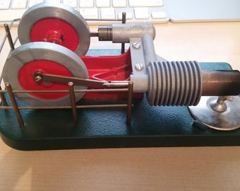 Horizontal Stirling Hot Air Engine