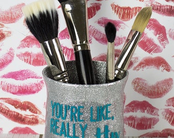 makeup brush holder  etsy