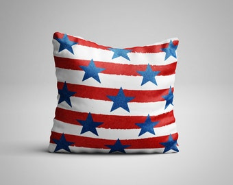 Stars and Stripes Cushion.