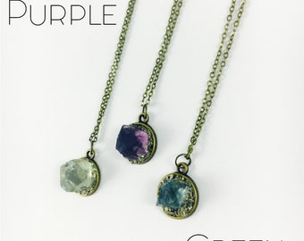 Reiki Blessed Crystal Necklace