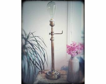 "Style ""Street lamp"" - Unique & handmade - vintage Deco table lamp"