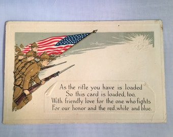 World War 1 Post Card