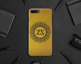 Gold  Case iPhone 7 Plus Case iPhone 6S Plus Case Monogram iPhone 6 Case iPhone Case iPhone 5 5s Phone Case Gold iPhone 7 Custom Case MN017