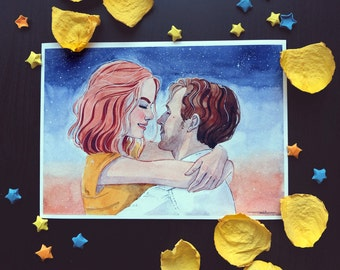 La La Land Limited edition A5 Print