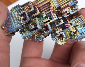 ON SALE! 30 % OFF 118 Gram Multi Coulored Bismuth Crystal